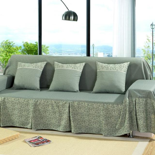 Us 14 29 Sofa Armrest Covers Freeshipping Sectional Sofa Covers Home Decoration Simple Full Slipcover Thick Cover Cushion Fabric Sets Di Sofa