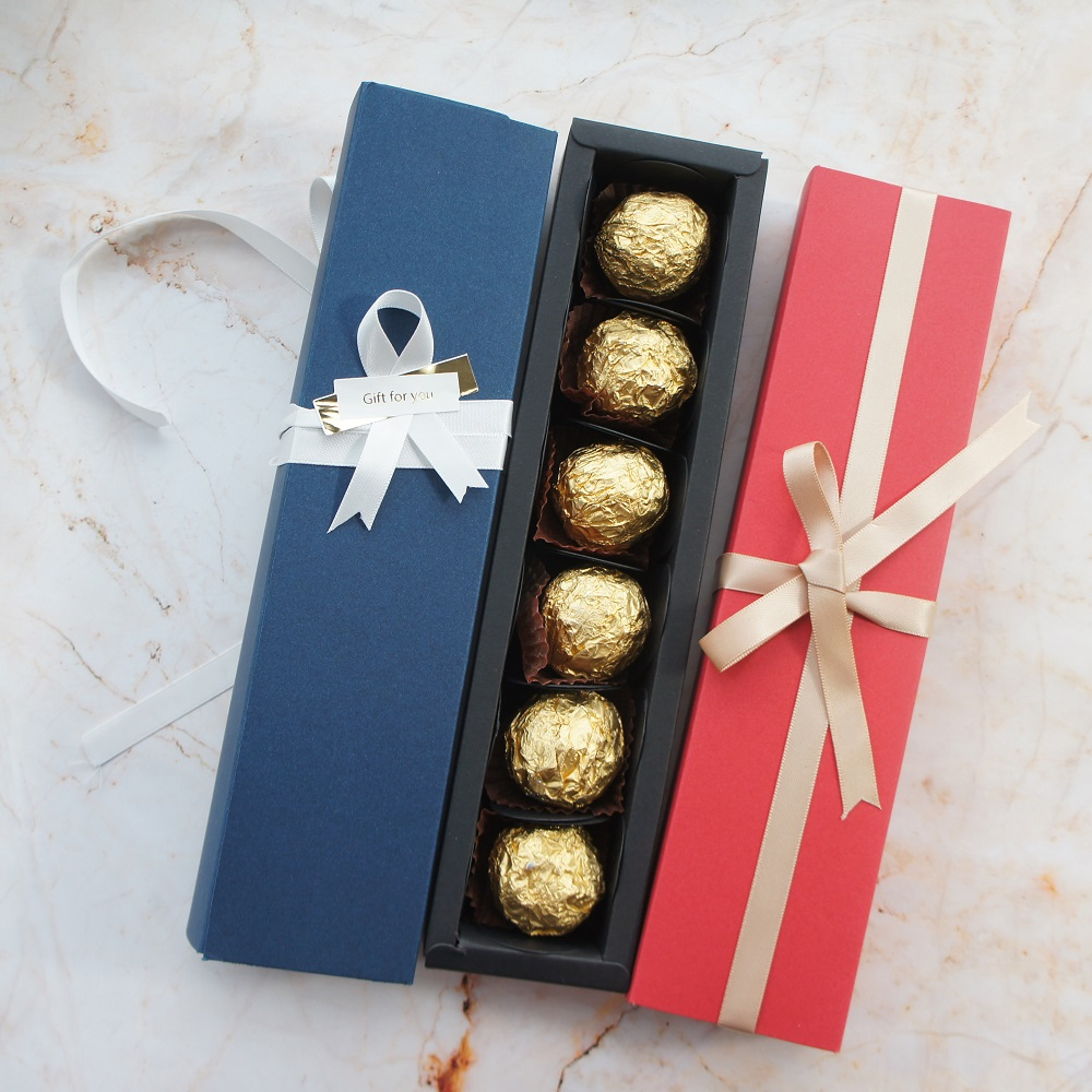 22 5 4 3 5CM red blue 10 set Chocolate Paper Box valentine 39 s day Christmas Birthday Party Gifts Packing wedding candy use in Gift Bags amp Wrapping Supplies from Home amp Garden