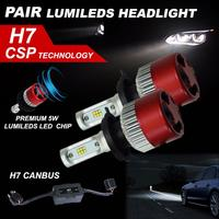 2017 New Car Styling H7 120W LED Headlight KIT High Power Replace Halogen Xenon 12000LM 6000K