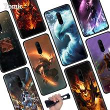 Dota 2 Black Soft Case for Oneplus 7 Pro 7 6T 6 Silicone TPU Phone Cases Cover Coque Shell
