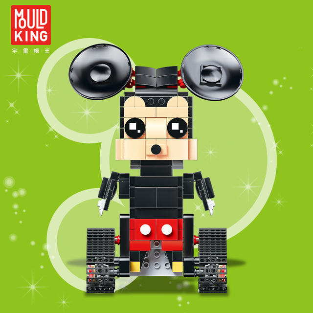 Remote control mickey minnie mouse crawler rc anime action figures ideas building blocks technic toys children lepin™ land