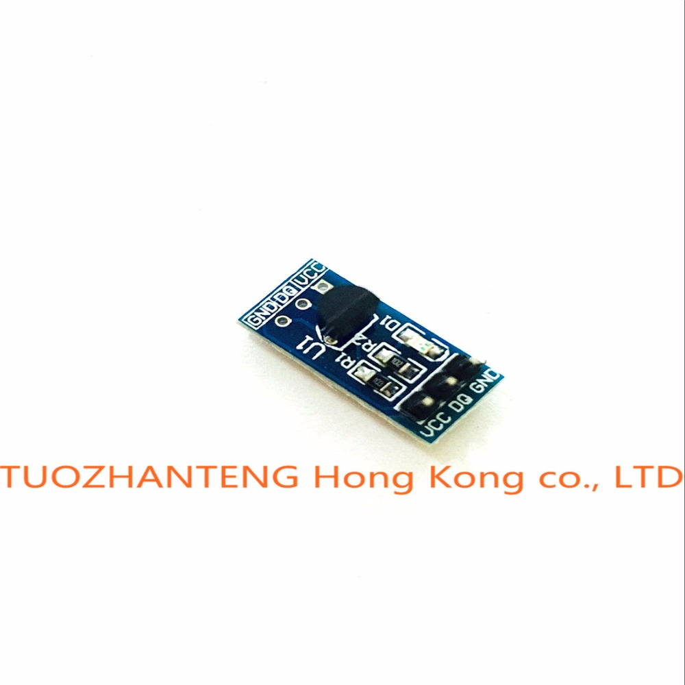 Free Shipping 1PCS DS18B20 temperature measurement sensor module For font b arduino b font