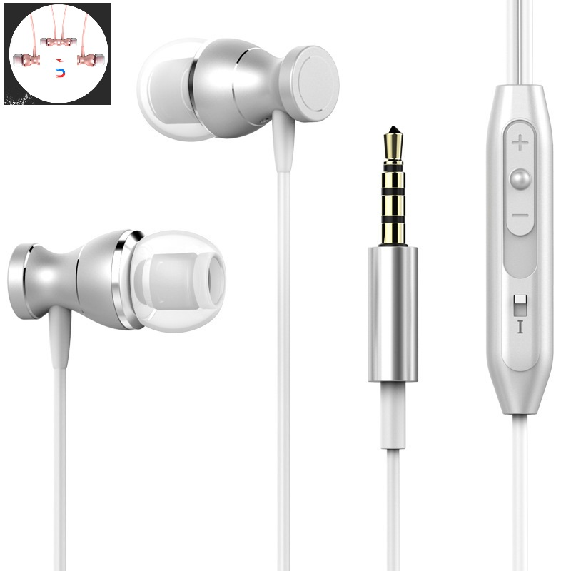 X1560 Best Bass Stereo Earphone For Philips Xenium X1560 Earbuds Headsets With Mic Earphones fone de ouvido Headphones X1560 image