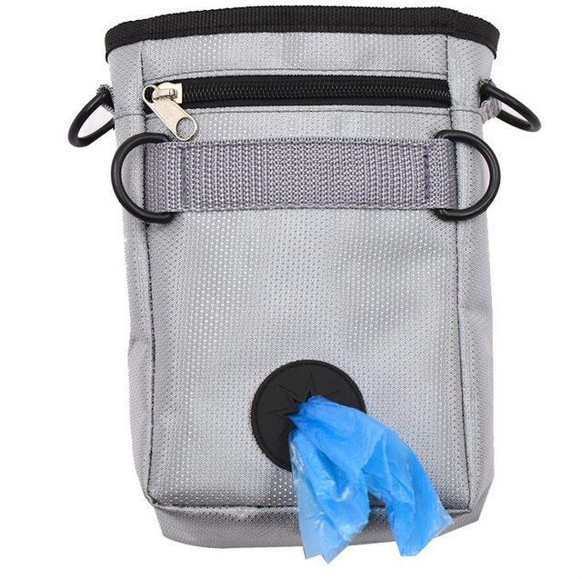 ISHOWTIENDA 1PC 11.5*5.5*17.5cm Pet Dog Training Snack Bags Out Pockets Of Professional Pet Snack Training Tool