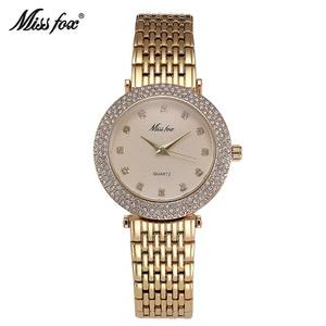 Image 5 - MISSFOX reloj a prueba de choques resistente al agua marca de moda importada China Erkek Saat diamante Carnaval Acero inoxidable Bu Bayan Kol Saati