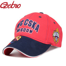 Geebro PFC CSKA MOSCOW Koni Horses Badge Embroidery Snapback Baseball Cap Outdoor Sports Soccer Hat for Men and Women JS260