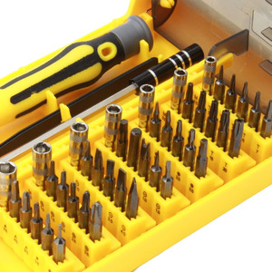 Image 3 - 45 in 1 Torx Precision Screwdriver Set For Cell Phone Laptop Repair Tool Kit small screwdriver set Multi Bit Tools