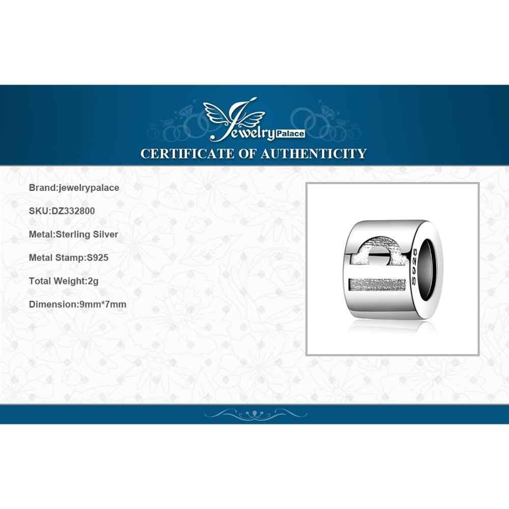 Jewelrypalace zodiac 925 prata esterlina grânulos encantos prata 925 original para pulseira de prata 925 grânulos originais jóias fazendo
