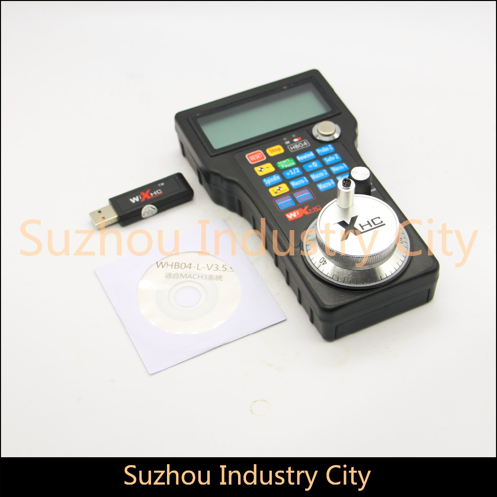 USB CNC Mach3 controller CNC USB MPG Pendant For Mach3 4 Axis Engraving CNC Wireless controller