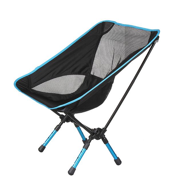 Alta qualidade respirável encosto cadeira dobrável de pesca portátil banho de praia de festa churrasco