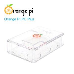 Image 4 - Orange Pi PC Plus set de 3, PC Plus, boîtier Transparent, ABS, USB vers DC 4.0MM 1.7MM, câble dalimentation