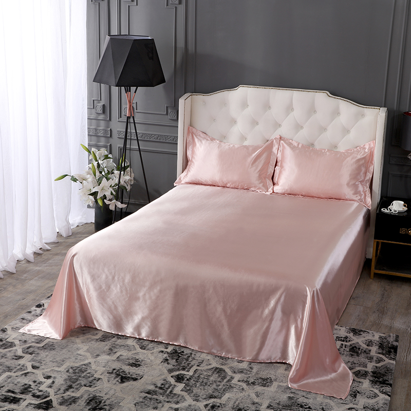 SLOWDREAM Pink Bedding Set Duvet Cover Flat Sheet Pillowcase Double Queen King Size Bed Linens Euro Luxury Decor Home Textiles in Bedding Sets from Home Garden