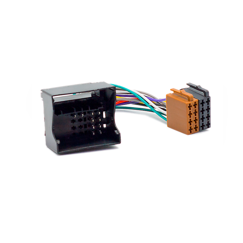 Novo carro iso rádio estéreo cablagem cabo cabo adaptador de chumbo tear para citroen c2 c3 c4 c5 c6 c8 peugeot todos os modelos auto estéreo