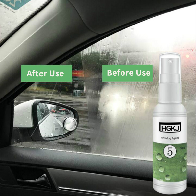 20/50ml Waterproof Rainproof Anti-fog Agent Glass Hydrophobic Nano Coating Spray For Car Windscreen Bathroom Glass Mobile Screen