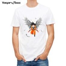 Dragon Ball T Shirt Men Summer Dragon Ball Z Angel Goku Cosplay 3D T-Shirts anime Black Goku DragonBall Tshirt Homme