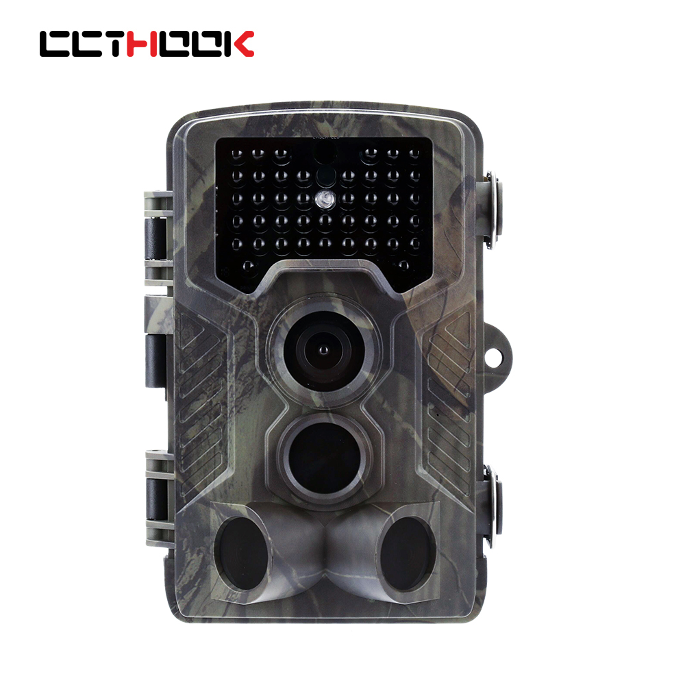 Portable Wildlife Trail Camera Hunting Camera 12MP HD Digital Infrared Scouting Camera 940nm IR LED Night Vision Video Recorder ht 002li wildlife hunting camera hd digital infrared scouting trail camera ir led video recorder 12mp