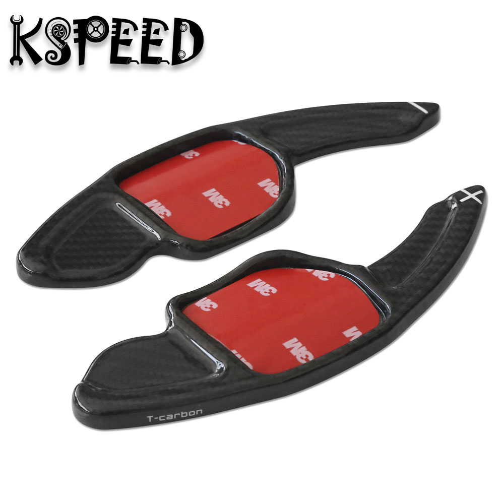 Real Carbon Fiber Car Paddle Shift Paddle Extension For A1 A3 S3 RS3 A4 S4 RS4 A5 S5 RS5 A6 S6 RS6 A7 S7 A8 S8 TT TTS RS Q5 Q7 zuczug red warning light door panel interior cable harness plug for a7 a8 a3 a4 a5 a6 q3 q5 tt rs3 rs4 rs5 rsq3 ttrs 8kd947411