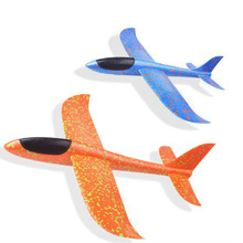 2018 DIY Kids Toys Hand Throw Flying Glider Planes Foam Aeroplane Model Party Bag Fillers Plane For Game