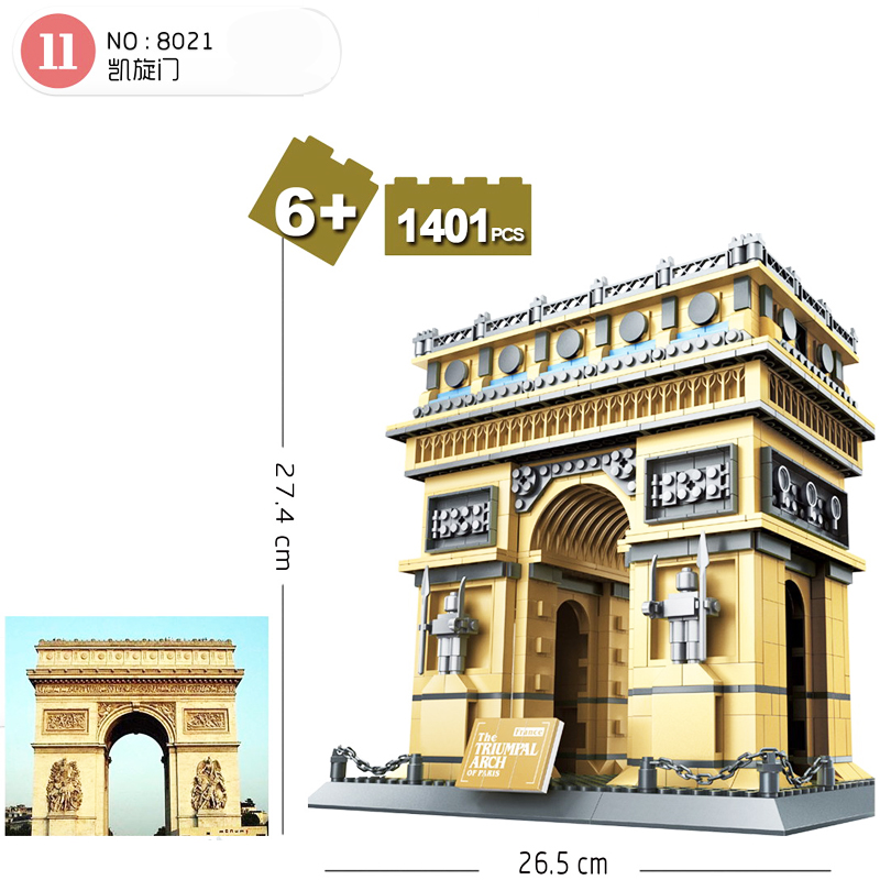 Wange-8021-Architecture-PARIS-ARC-DE-TRIOMPHE-Series-Building-Blocks-Educational-Structure-Bricks-Toy-For-Children