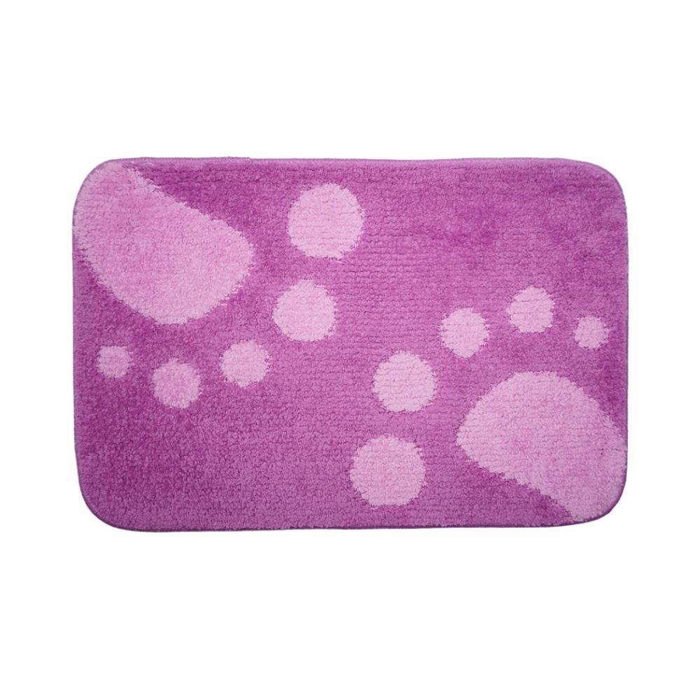 achetez en gros tapis de bain violet en ligne des grossistes tapis de bain violet chinois. Black Bedroom Furniture Sets. Home Design Ideas