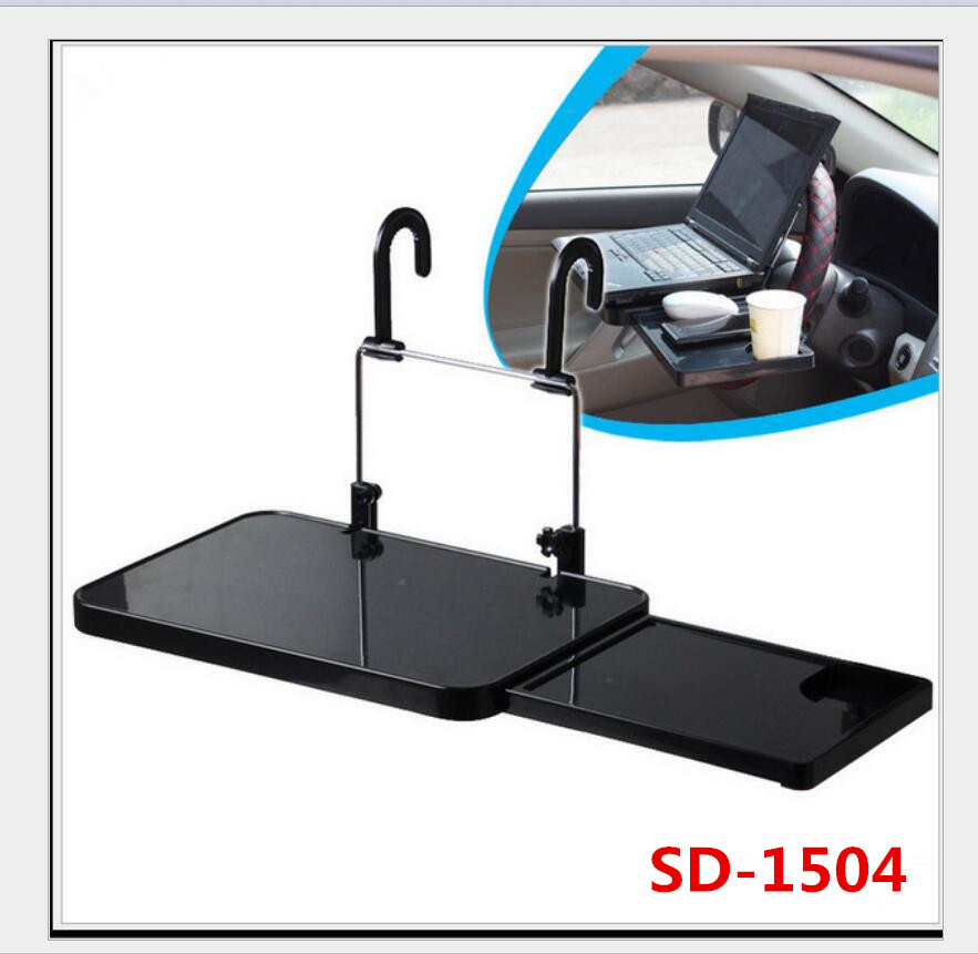 car cup holder Portable desk Steering Wheel Car For SUV Back Seat Tray Stand Work Dining Table car cup holder