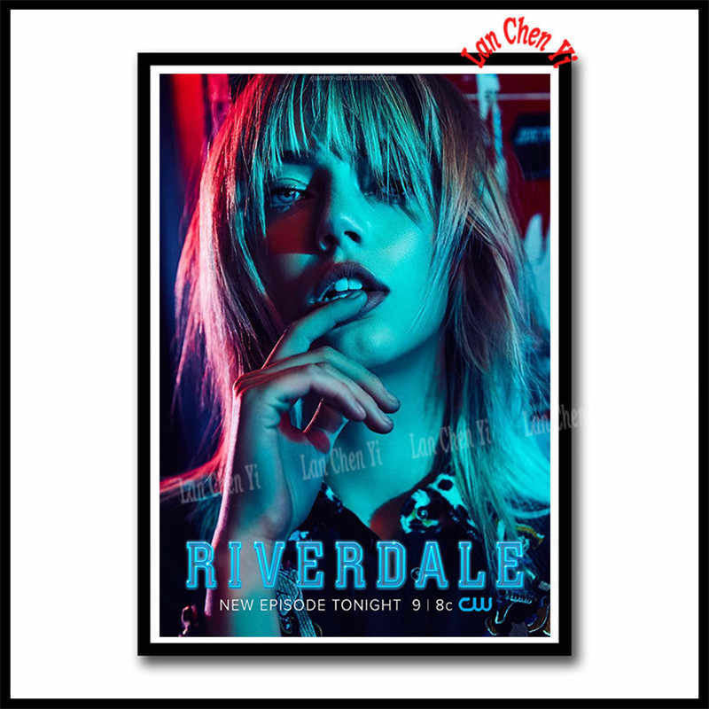TV Series Riverdale Coated paper poster Cafe Creative wallpaper Interior Decoration 42*30cm