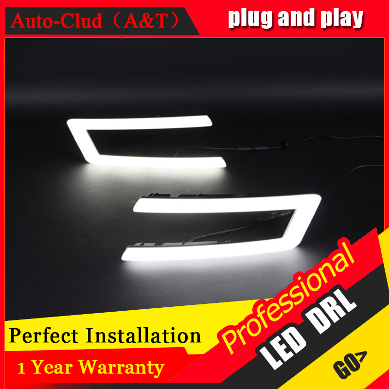 Auto Clud car styling For VW Lavida LED DRL For Lavida High brightness guide LED DRL led fog lamps daytime running light Light g auto clud car styling for toyota highlander led drl for highlander high brightness guide led drl led fog lamps daytime running l