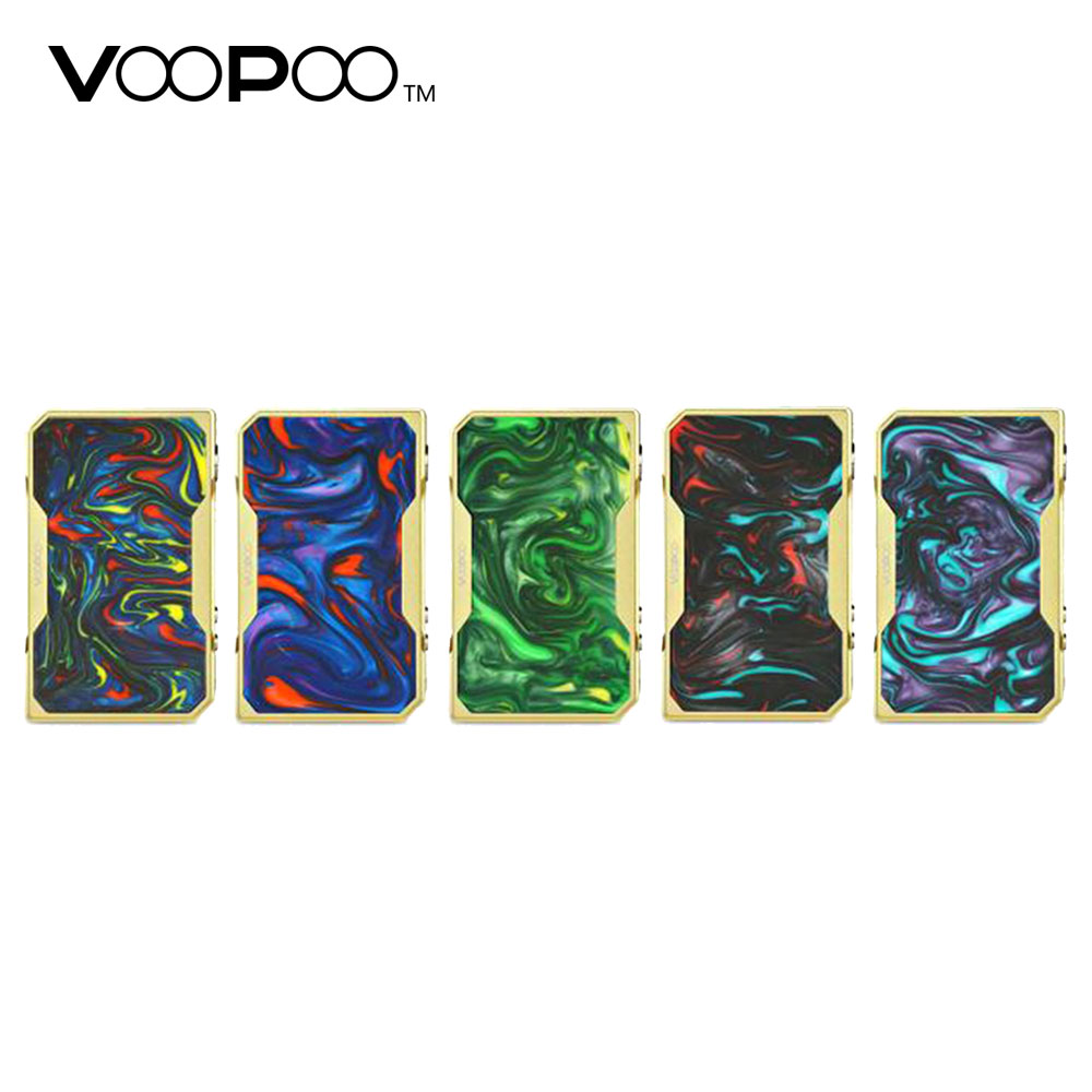 Original Gold Edition VOOPOO DRAG 157W TC Box MOD Fast Fire Speed with Gene.Fan Chip & Max 157W Output Power No 18650 Cell Mod voopoo drag 157w tc box mod