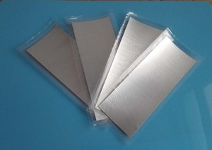 Image 3 - Indium Sheet Indium Foil Size: 100mm*100mm*0.05mm Laser Cooling and Sealing Coating Material