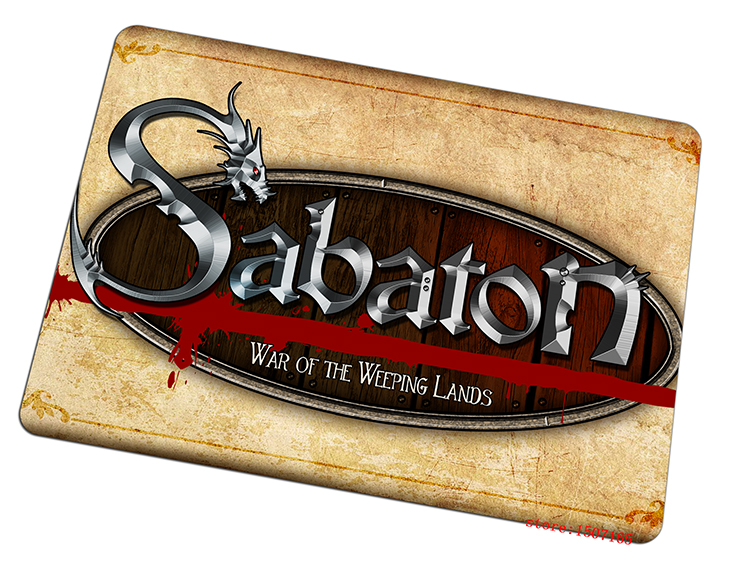 sabaton mouse pad hot sales gaming mousepad custom gamer mouse mat pad game computer desk padmouse keyboard large play mats