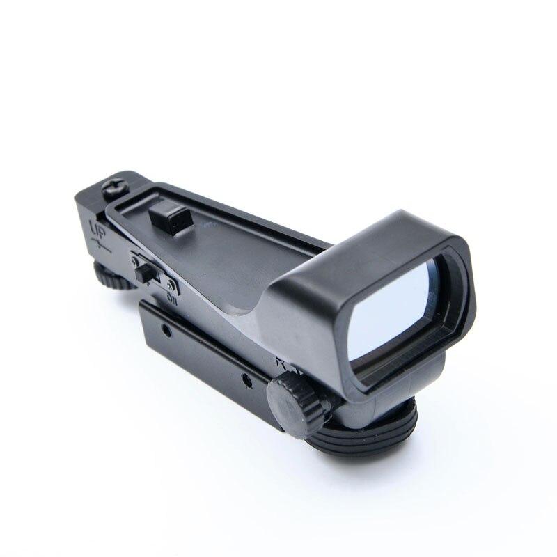 Red Dot Anblick-bereich Zielfernrohr Airsoft Holographische Anblick Outdoor Jagd Scopes Gewehr Zubehör 11/20mm Schiene Montieren