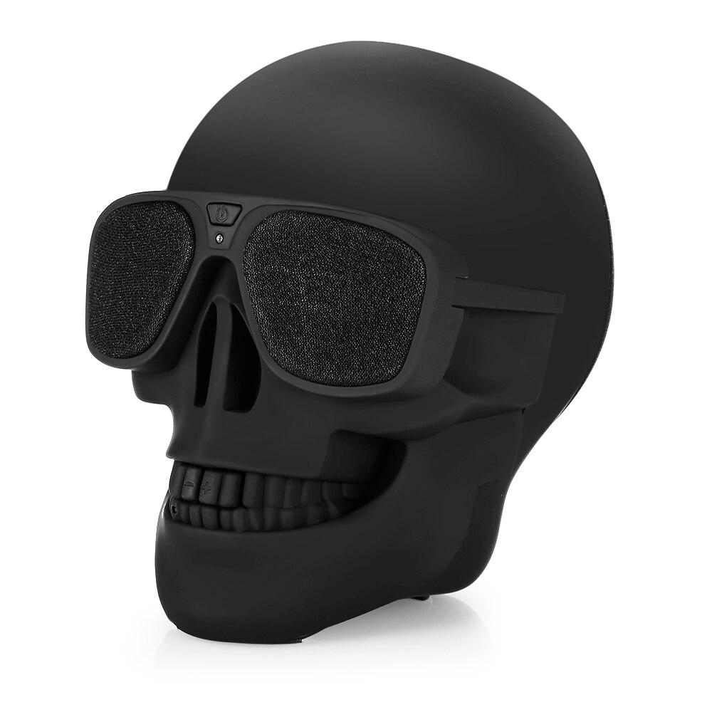 X18 2017 Del Cranio Altoparlante del Bluetooth Portatile Senza Fili del Giocatore Bassi Ad Alta potenza Colonna bluetooth hoparlor Mini Altoparlante portatil Suono