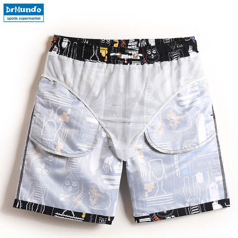 Boardshorts men swimwear sweat beach surfing Qucik Dry gym sports - Sportswear and Accessories - Photo 2