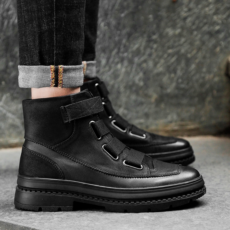 up Taille Chaussures up Hiver 2018 Mode Plus Bottes Season Four Lace bgIfym76Yv