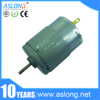 high quality ASLONG RS385 12-24v micro dc motor CCW 3800r/min Brush Motor for RC Airplane