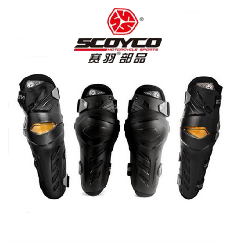 2018 New SCOYCO off road motorcycle gear protector Kneecaps kneepad Motor riding equipment Elbow pads CE certification label ...
