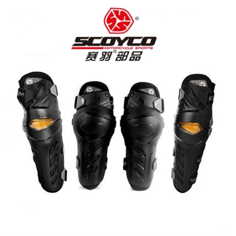 2018 nouveau SCOYCO hors route moto protecteur d'engrenages genouillères moteur équitation équipement coudières CE certification étiquette
