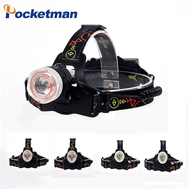 USB Rechargeable 6000LM XM-T6 Led Zoom Headlamp Red White Headlight Bicycle Head Lamp Fishing light by18650 Battery For Camping цены онлайн