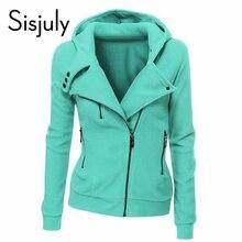 Sisjuly зеленый куртка с длинным рукавом мода весна толстовки осень молния пальто женщин(China (Mainland))