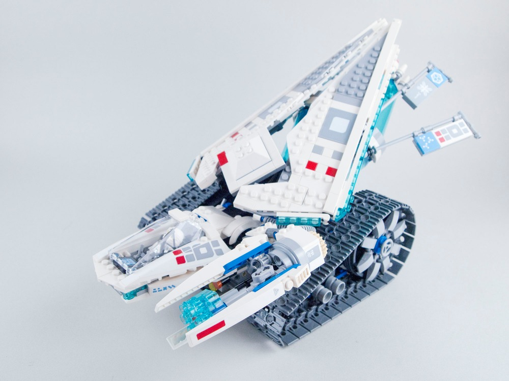 Lepin 06061 Ice Tank building Blocks Brick for children Toys Set Boy Game Team Castle Compatible with Decool bela 70616 large military 8 in1 747pcs 8 figures building blocks tank warship army war toys for children constructor set compatible lepin