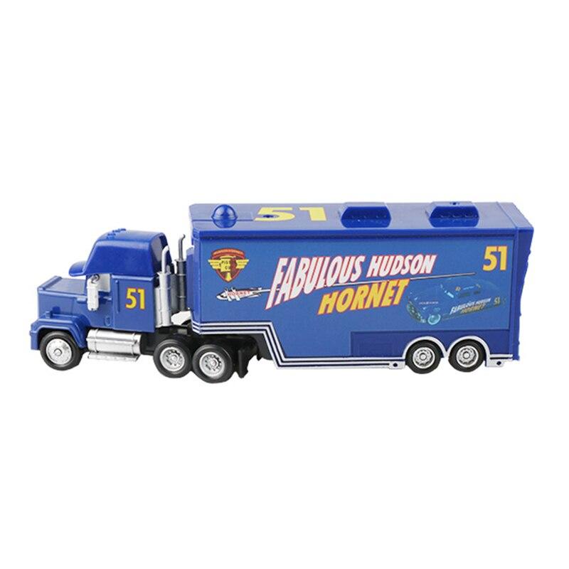 Дисней Pixar Тачки 2 3 игрушки Молния Маккуин Джексон шторм мак грузовик 1:55 литая модель автомобиля игрушка детский подарок на день рождения - Цвет: Huston Uncle