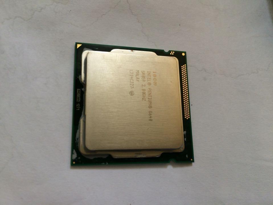 Parts CPU INT PENTIUM G640 SR059 2.80GHZ MALAY L214C327 1CU8UZZ005L-N толстовка met р l int