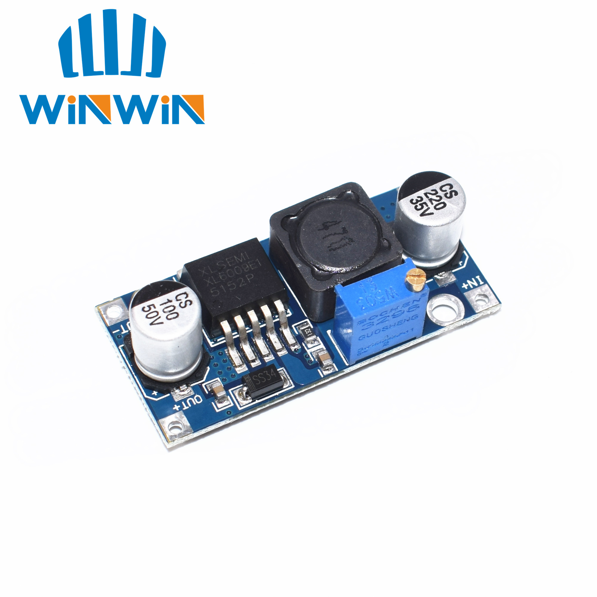 Integrated Circuits Active Components Glorious 5pcs/lot Dc-dc Module Power Supply Module Xl6009 Can Raise Pressure Booster Module Super Lm2577 Dc-dc Booster Step-up Module Suitable For Men And Women Of All Ages In All Seasons