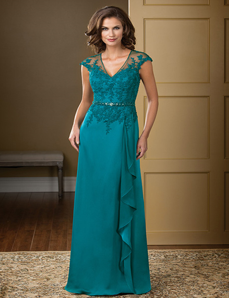 Funky Mother Of The Bride Dresses Teal Image - Wedding Dress Ideas ...