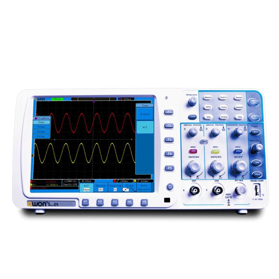 Tds7104 Owon Tds Series Digital Oscilloscope100mhz Bandwidth 1gs S Lcd Oscilloscope New Original High Precision Sds8202 Dual Channels 200mhz 2gs 10m Record