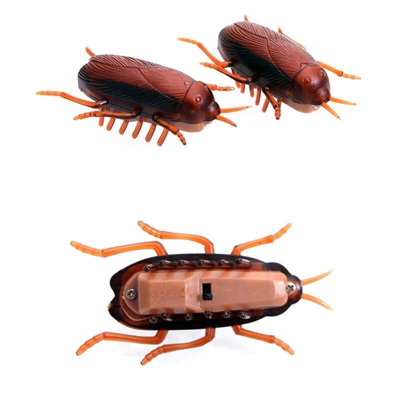 1 Pcs Simulatie Nep Kakkerlak Elektronische Roach Bug Kakkerlakken Speelgoed Prank Grappige Truc Grap Speelgoed Speciale Levensechte Kat Spelen Speelgoed Tegen Elke Prijs