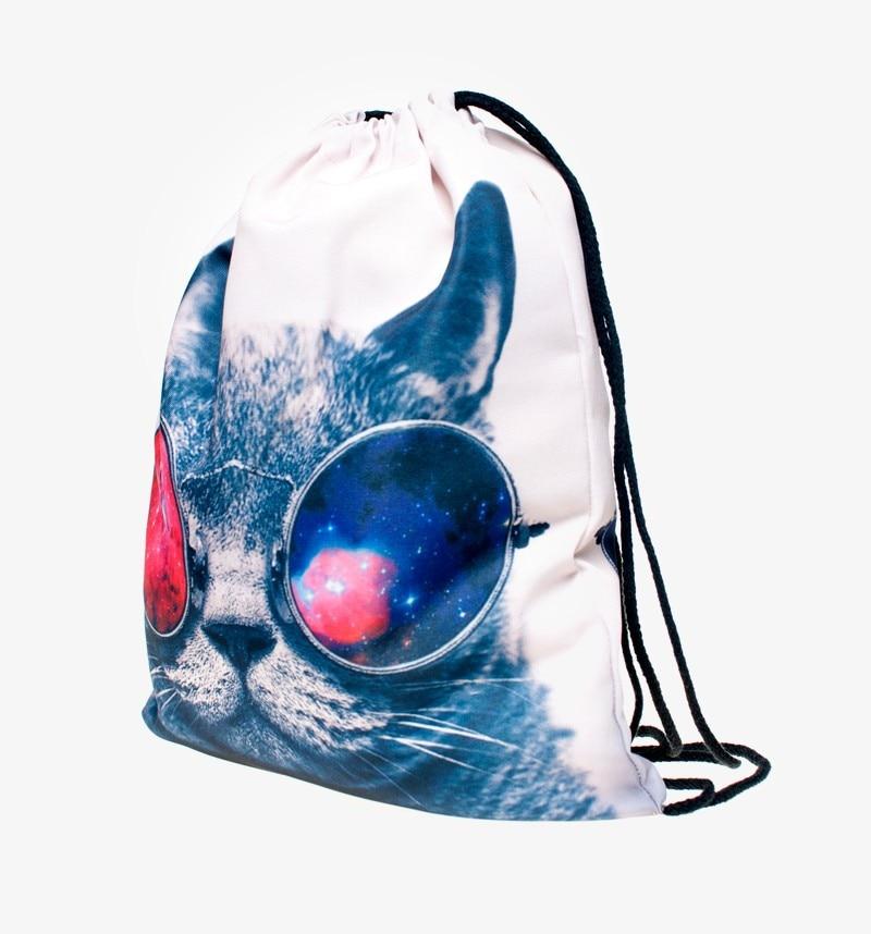 3d impressão mochila mulheres bolsa Capacidade : Below 20 Litre