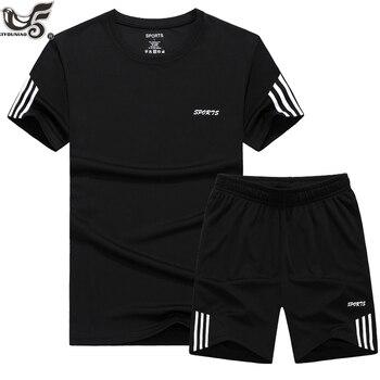 Grande taille 7XL 8XL 9XL été nouveaux hommes Shorts décontracté costume de sport survêtement hommes ensembles pantalon mâle sweat hommes marque vêtements