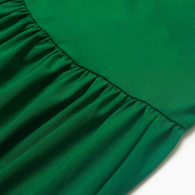 Wipalo Женская Плюс Размер v-образный вырез с коротким рукавом с поясом сплит подол сексуальное Boheimia расклешенное платье