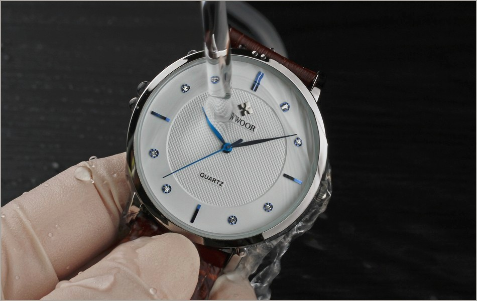 New Top Brand Men Sports Watches Men's Quartz Ultra Thin Clock Genuine Leather Strap Casual Wrist Watch Male Relogio Waterproof 2